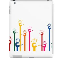 Hands upwards iPad Case/Skin