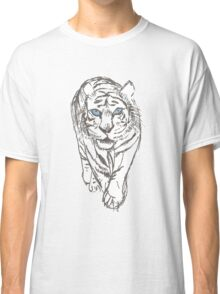 Snow Tiger Hunting Classic T-Shirt