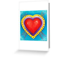 Ladder to your heart Greeting Card