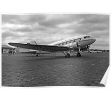 Douglas DC3 Transport Plane Poster