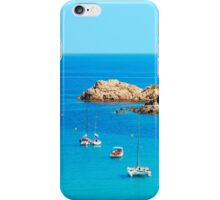Boats in the Bay of Saint Tropez, Southern France iPhone Case/Skin