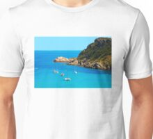 Boats in the Bay of Saint Tropez, Southern France Unisex T-Shirt