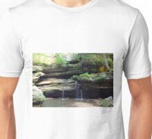 Hocking Hills Area Waterfall 2 Unisex T-Shirt