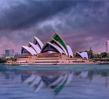 Violet Concerto - The Sydney Opera House, Australia by Mark Richards