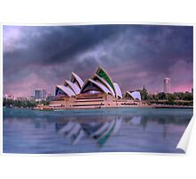 Violet Concerto - The Sydney Opera House, Australia Poster