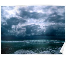 Ominous clouds Poster