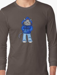 Bad Day Kitty Long Sleeve T-Shirt