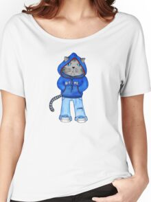 Bad Day Kitty Women's Relaxed Fit T-Shirt