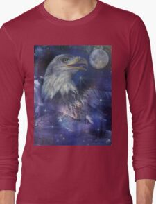 American Eagle - Symbol of Freedom & Independence Long Sleeve T-Shirt