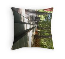 Steps In The City of Seville Throw Pillow