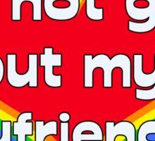 I'm Not Gay (BF) Sticker