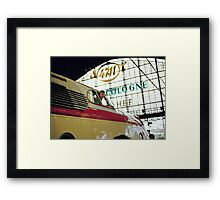 Trans Europe Express at Cologne, Germany, 1980s. Framed Print