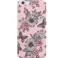 Butterflies in a Sunny Garden iPhone Case/Skin
