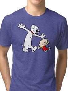 Stewie and Brian (C & H) Tri-blend T-Shirt