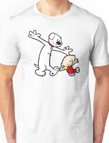 Stewie and Brian (C & H) Unisex T-Shirt