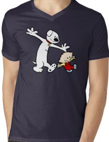 Stewie and Brian (C & H) Mens V-Neck T-Shirt