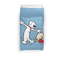 Stewie and Brian (C & H) Duvet Cover