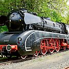 German Steam Locomotive, No. 10 001. by David A. L. Davies