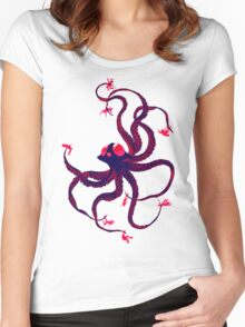 Tentacruel Women's Fitted Scoop T-Shirt
