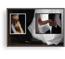 Black and White Frames Canvas Print