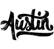 Brush Script Austin, Texas by Austin Edwards
