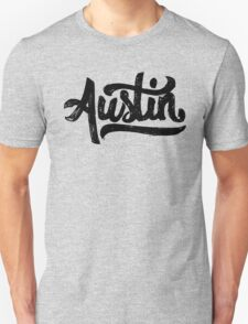 Brush Script Austin, Texas T-Shirt