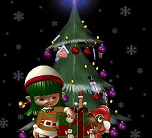 Christmas Friends by LoneAngel