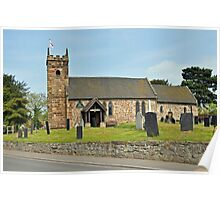 St Michael's Church, Willington Poster