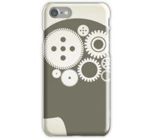Head a gear wheel iPhone Case/Skin