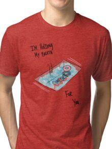 Swimming Pool TFB Tri-blend T-Shirt