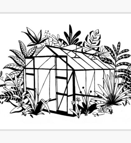 Greenhouse Sticker