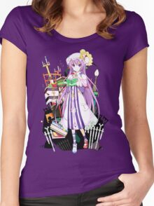 Touhou - Patchouli Knowledge Women's Fitted Scoop T-Shirt