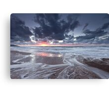 Inverness Sunset Canvas Print