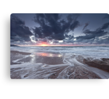 Inverness Sunset Canvas Print