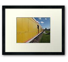 Railroad Train Framed Print