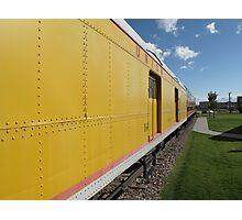 Railroad Train Photographic Print