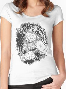 Valhalla Awaits Women's Fitted Scoop T-Shirt