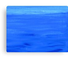 Blue Atmosphere. Canvas Print