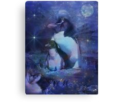 Exotic Penguins in Tuxedos Canvas Print