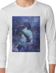 Exotic Penguins in Tuxedos Long Sleeve T-Shirt