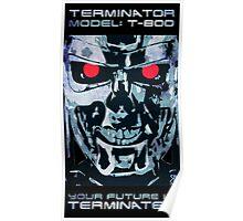 Terminator T-800 Endoskeleton Poster
