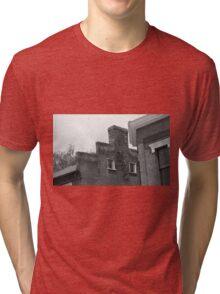 Jonesborough, Tennessee - Small Town Architecture Tri-blend T-Shirt