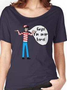 Wally's Here Women's Relaxed Fit T-Shirt