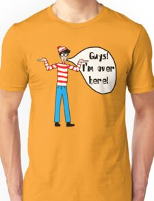 Wally's Here Unisex T-Shirt