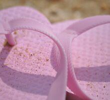 Sandy Flip-Flops by Nicole Jeffery