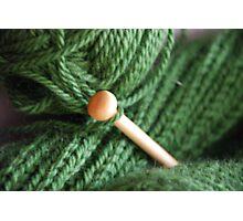 Knitting Photographic Print
