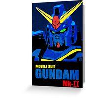 Gundam Mk-II (Titans Ver.) Greeting Card