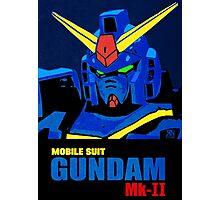 Gundam Mk-II (Titans Ver.) Photographic Print