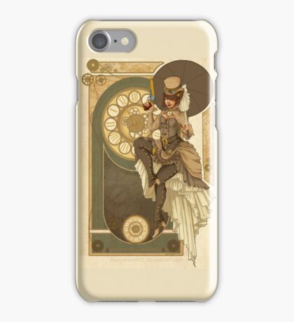 Steampunk Nouveau  iPhone Case/Skin