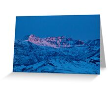 Jim Mountain-Signed-#0265 Greeting Card
